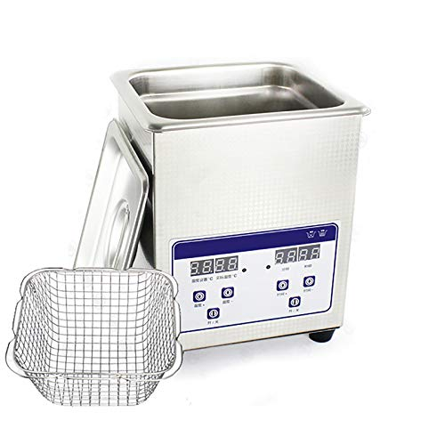 HEWXWX 2L Ultrasonic Cleaner, LCD Panel, Touch Screen Operation, Simple And...