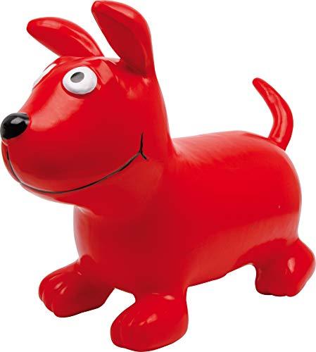 6784 Cane per saltare 'Bodo', animale rimbalzante in plastica leggera e resistente, da 3 anni in poi