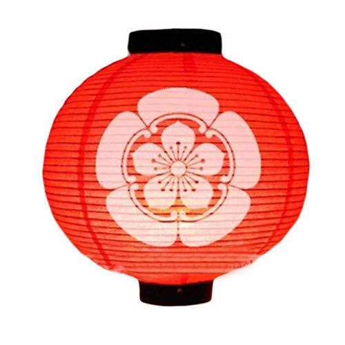 ACZZ Bar Estilo japonés Farol colgante Sushi Papel Lámparas Decoraciones para restaurantes (Estilo 03)