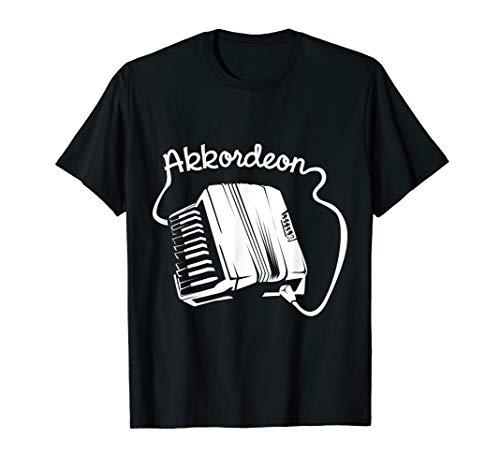 Akkordeon Musiker Pianoakkordeon T-Shirt