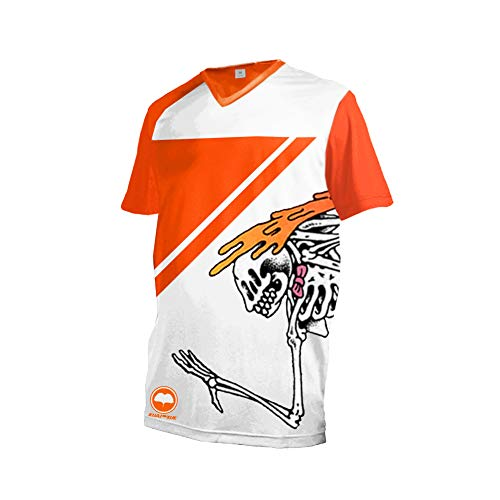 Uglyfrog Neueste Downhill Trikot Kurzarm MTB Trikot Herren Racewear FR Jersey Fahrrad Sport Enduro Atmungsaktives Hip