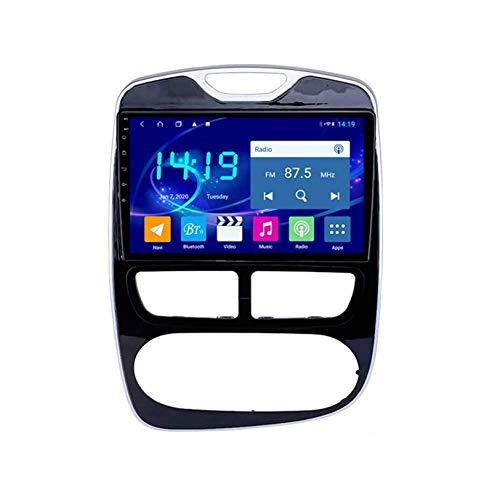 WHL.HH Video Receptor Multimedia Jugador para REN Ault Clio 2012-2016 GPS Navegación Radio Estéreo 4G WiFi Bluetooth 10 Pulgadas Pantalla táctil Cabeza Unidad Android 10.0 GPS Navegación
