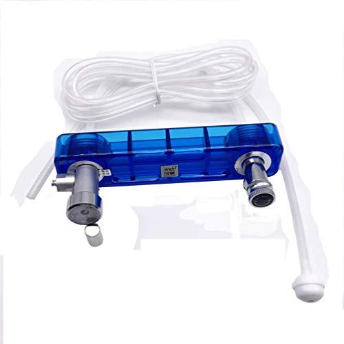 Tiandirenhe DIY CO2 Generator System Kit with Pressure Guage Safe Vavle Air Flow Adjuster for Plants Aquarium