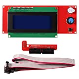 Aoicrie LCD 2004 Smart Display Screen Controller Module with Cable for RAMPS 1.4 for Mega Pololu Shield for Reprap 3D Printer Kit Accessory