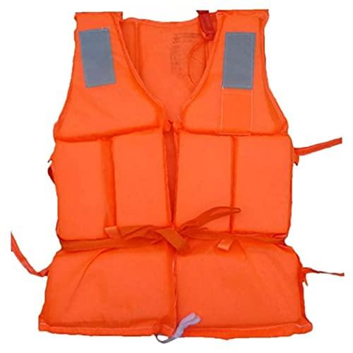 nJiaMe Chaleco Salvavidas Natación Ayuda a la flotación Snorkel Chaqueta de Seguridad para Deportes acuáticos Buceo Buceo con Silbato