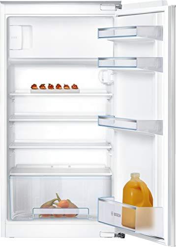 Bosch KIL20NFF0 Serie 2 Einbau-Kühlschrank mit Gefrierfach / F / 102,5 cm Nischenhöhe / 185 kWh/Jahr / 142 L Kühlteil / 17 L Gefrierteil / MultiBox / FreshSense