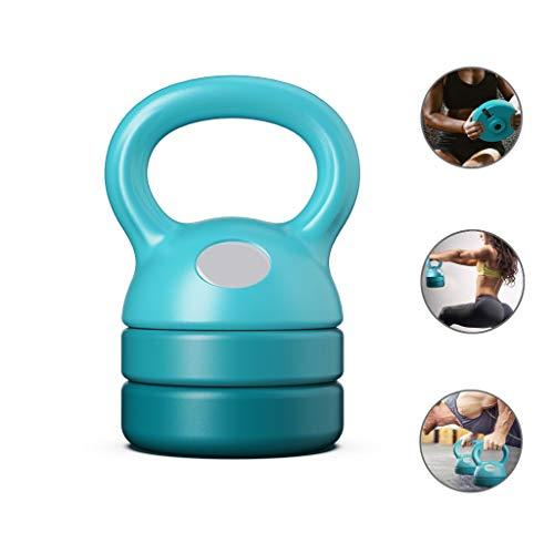 NTWXY Kettlebell Set Umfassende Trainingsausrüstung Für Dünne Beine Und Hüften Zu Hause 5-12LB Home Gym Verstellbare Kettlebell