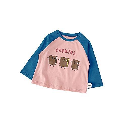 URMAGIC Camisas para niños, Baby Boys Niños Infantil Color de Dibujos Animados Patchwork Camisas de Manga Larga Tops Ropa de otoño