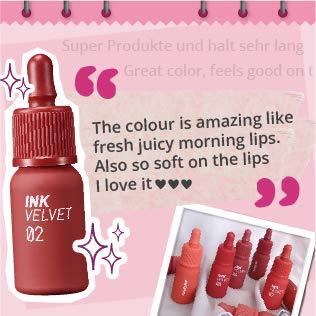 3 PACK Peripera Ink the Velvet Lip Tint   High Pigment