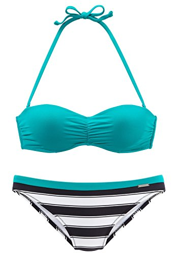 Chiemsee Wire Balconnet Bikini Petrol - 65A