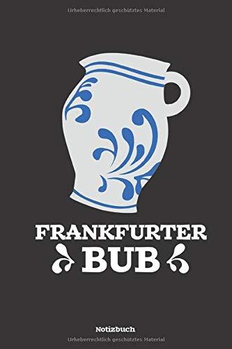Frankfurt Notizbuch: Apfelwein Frankfurt Notizheft  