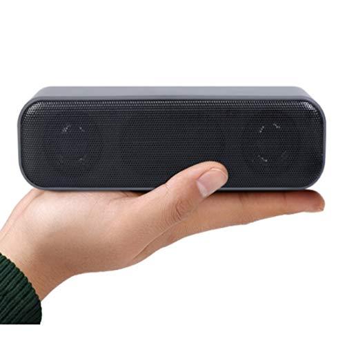 USB-Computerlautsprecher, Mini-Aktivlautsprecher Tragbare Soundbar Lautsprecher Stereo-Soundlautsprecher für Desktop, Windows-PCs, Laptops, Plug & Play