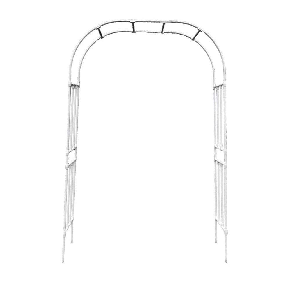 XLOO actualización, Espesar Arco de jardín de Metal, cenador de ...