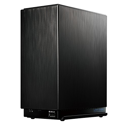 I-O DATA NAS 4TB RAID 1(ミラーリング)/デュアルコアCPU/高速モデル/2ドライブ/3年保証/日本製 HDL2-AA4
