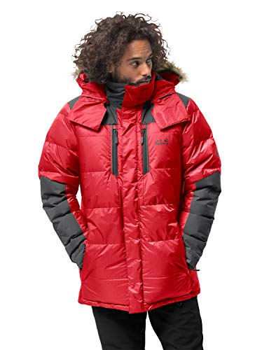 Jack Wolfskin Herren The Cook Parka, red Lacquer, XL