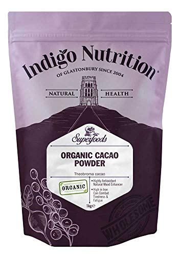 Indigo Herbs Bio Kakaopulver 1kg | Vegane | Rein & GMO Frei