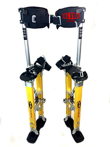 SurPro SP2 Quad Lock Magnesium Drywall Stilts 18-30in. (SUR-SP-1830MP)