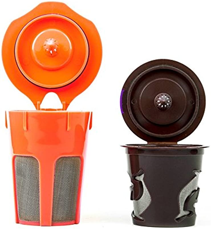Morning Wood Coffee K Carafe Reusable Filter And Reusable K Cup Filter Combo Pack Compatible With All K Cup K Carafe Brewers Including Keurig 2 0 Keurig Accessories For Your Keurig Coffee Maker