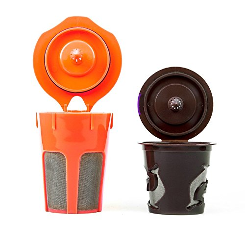 Morning Wood Coffee: K Carafe Reusable Filter and Reusable K Cup Filter Combo Pack: Compatible with...
