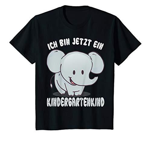 Kinder Kindergartenkind Elefant Tier Kindergarten Start 2020 Kita T-Shirt