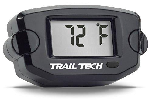 Trail Tech 742-ET2 Black TTO Temperature Digital Gauge 12mm CHT Sensor