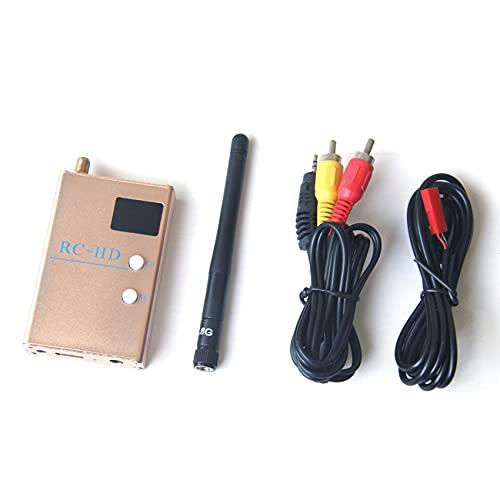 BTUWRUI FPV 5.8G 5.8GHz RC832HD RC-HD EmpffNger compatibile con cavo A/V e alimentazione per quadricottero F450 S550