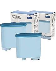3 cartuchos de filtro de agua para cafeteras automáticas Philips y Saeco, filtro de agua para evitar depósitos de cal para cafeteras automáticas AquaClean CA6903/10/00/01/22/47