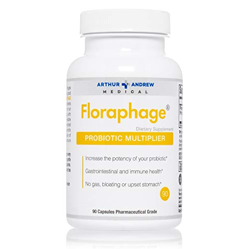 Arthur Andrew Medical, Floraphage, Prebiotic Formula and Probiotic Multiplier, 90 Capsules