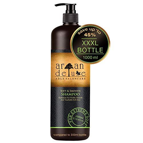 Argan Deluxe Repair & Care-Shampoo in Friseur-Qualität 1000 ml - repariert & pflegt - gegen Spliss, Frizz & Haarbruch - für Frauen & Männer