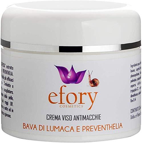 Top Shop Efory Cosmetics Crema facial Baba de caracol Preventhelia 50 ml antimanchas Navidad