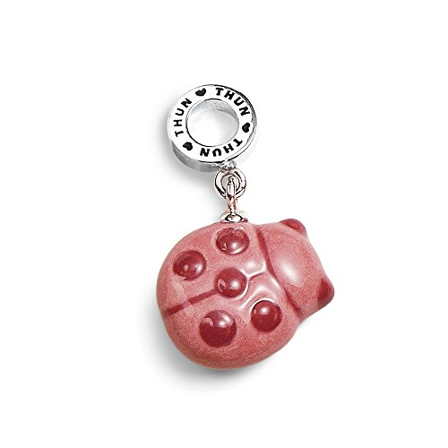 THUN ® - Charm Collection Coccinella Rosa Porta Fortuna