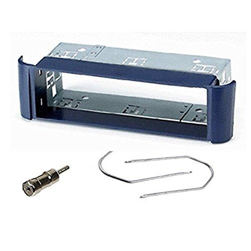 Sound-way Kit Montaggio Autoradio, Mascherina 1 DIN, Plancia, Adattatore Antenna, Chiavi di Smontaggio, compatibile con Smart Fortwo