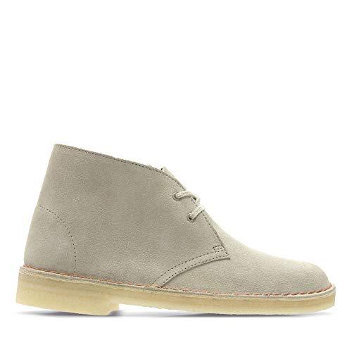 Clarks Damen Desert Boots, Beige (Sand Suede), 41 EU