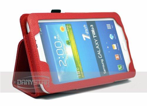 Custodia Cover per Samsung Galaxy Tab 3 7.0 P3200 (Rosso) - Accessori per Tablet Danystar