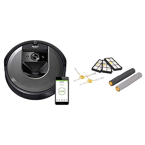 Buy iRobot Roomba i7 (7150) Robot Vacuum and Roomba 800 and 900 Series Replenishment Kit (3 AeroForc...
