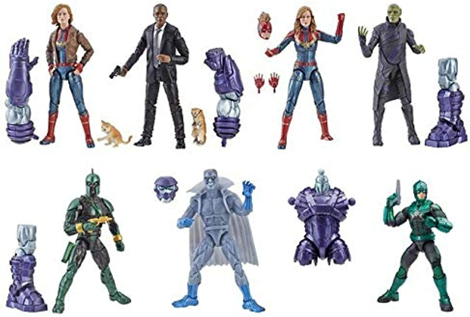 Marvel Captain Legends Actionfiguren-Set Wave 1 Kree Sentry (7)