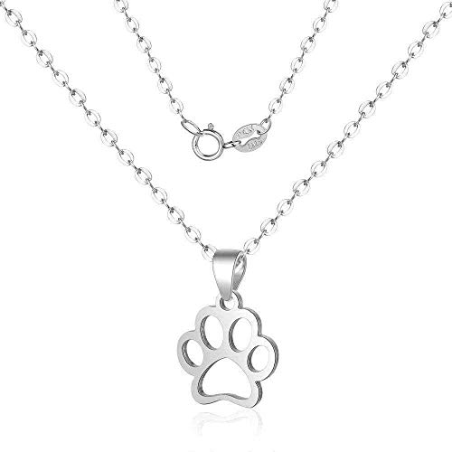 ZPPYMXGZ Co.,ltd Necklace Necklace Women Sterling Silver Pendant Cat Claws Men and Women Silver Short Paragraph Girlfriends Couple Perfect Jewelry Gift
