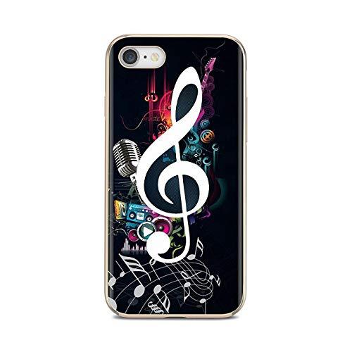 Notas musicales violín música clásica cubierta suave para Huawei P8 P9 P10 P20 P30 P Smart 2019 Honor Mate 9 10 20 8X 7A 7C Pro Lite-images 6-Para Huawei P30 Lite