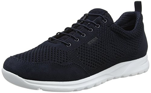 Geox Herren U Damian D Sneaker, Blau (Navy), 46 EU