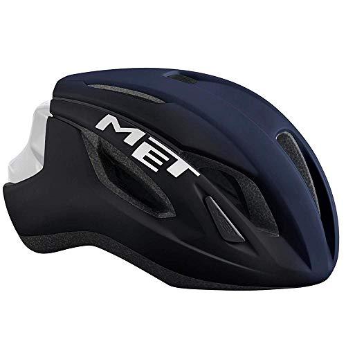 MET M3HM107M0BL1, Casco Unisex – Adulto, Blu (Blu Scuro), M