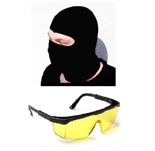 Nick and Ben Speedfire Softair Schutzbrille + Sturmmaske