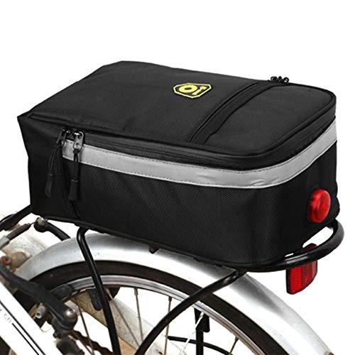 DHOUTDOORS Fahrradtasche Gepäckträger Tasche Gepäckträger Fahrrad Multifunktions Rahmentasche für Gepäckträger Elektrische Fahrrad Satteltasche Wasserdicht Gepäckträger Tasche für Alle Fahrrad
