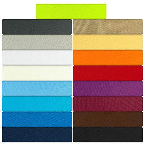 B&D Textiles GmbH Jersey Spannbettlaken, Spannbetttuch, Serie Maxi, 140x200cm | 160x200cm, Anthrazit, 100{7853b91f7bfed9e967f3caac1fedd4292bd51fc4892f94c763b6eefc9dd19b7e} Mikrofaser, hochwertige Verarbeitung, mit Gummizug