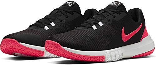 Nike - Flex Control 4 - CD0197005 - Colore: Bianco-Nero-Rosa - Taglia: 46 EU