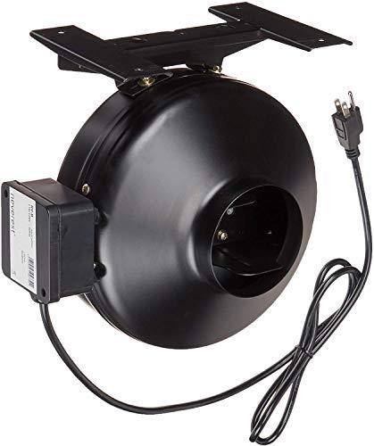neverest RV-B 200 mm Profi Rohrventilator Rohrlüfter Abluftventilator Lüftung 1050 m³/h Pa 570