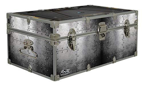 C&N Footlockers Designer Storage Trunks - Hi-Tech Themes - 32 x 18 x 13.5 Inches - Durable and Built to Last - Lockable (Blast Door)