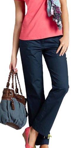 Damen Hose marine blau
