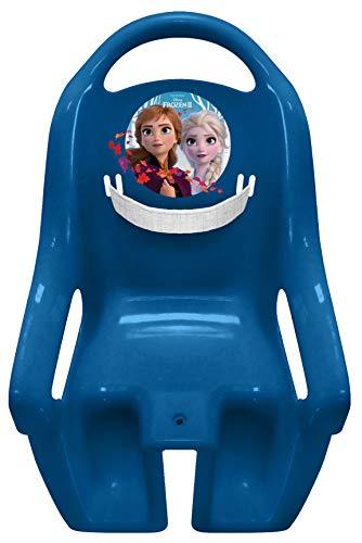 STAMP Mädchen Fahrrad Puppen Sitz Frozen II Rad-ZUBEHOER, BLAU