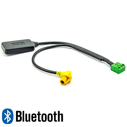 Watermark WM-BT42 Bluetooth Adapter für Audi A4 A5 A6 A7 A8 Q5 Q7 TT ab 2009 mit MMI 3G 3G+ Musik Streaming