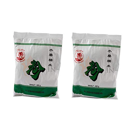 Harina de arroz glutinoso   pack de 2 x 400g